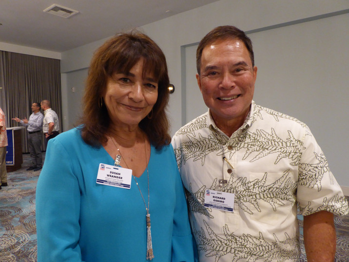 Susan Weander & Richard Oshiro