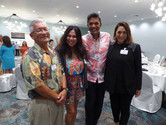 Ted Sakai, Billie Jean Ford, Simeon Miranda & Emi Espinda