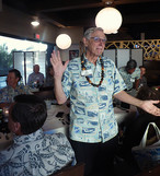 Phil Sammer shows off his new Skal Aloha Shirt. Do you have yours yet?