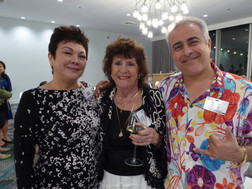 Naomi Kanna, Valerie Davis & Morad Shaker