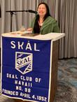 Jennifer Chun, President - Skal Hawaii