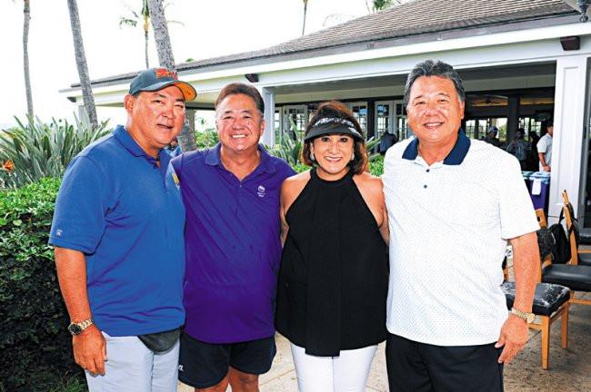 Percy Ihara, Toby Kusaka, Emi Espinda and Mike Kobayashi