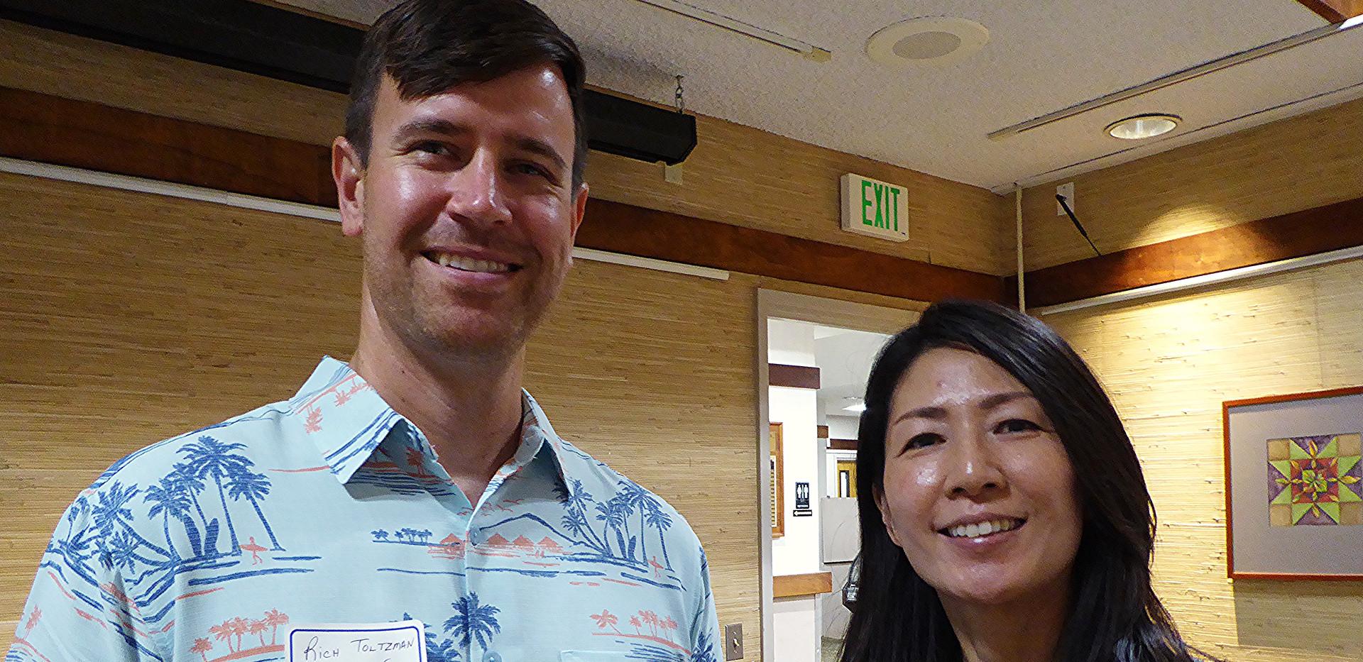 Rich Totlzman (Skal San Francisco) & Ayako Uihara