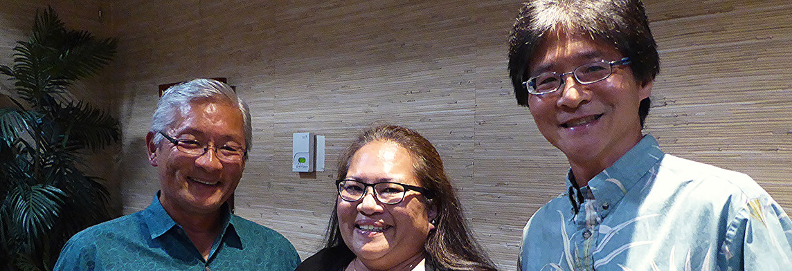 Ted Sakai, Tisa Marie Canlas & Doug Choy / LCC