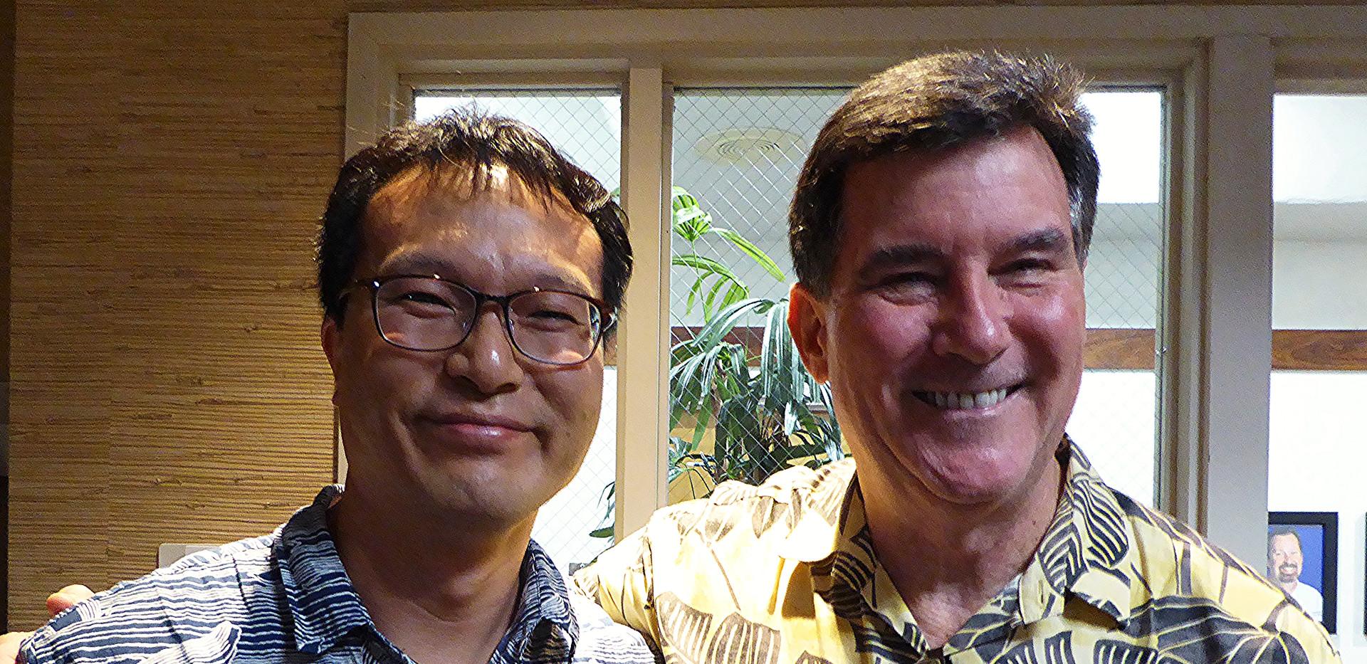 Dr. Junwook Chi / UH & Dr. Dave Evans / KCC