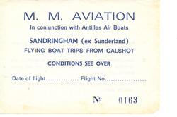 Antilles Air Boat Tkt 0163 for VP LVE So