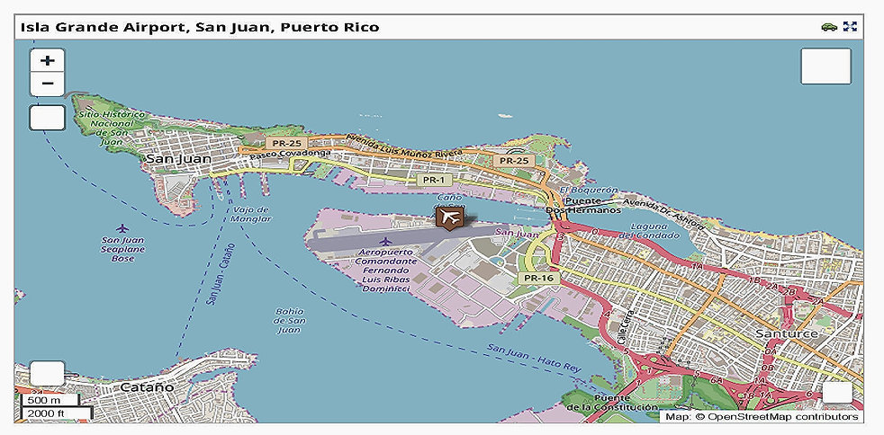 Isla Grande Airport - San Juan, Puerto R