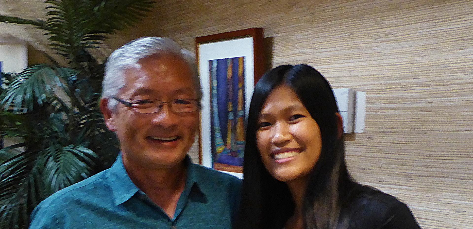 Ted Sakai & Gellyn Flores / KCC