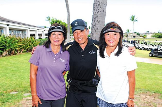 Ann Vasconcellos, Wayne Kojima and Susan Matsushita