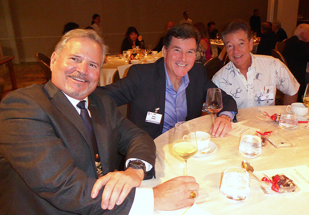 Jeff Davis, Dave Evans & John Foy