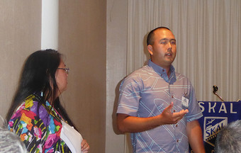 President Jennifer Chun & Golf Tournament Chair, Corey Kozuma