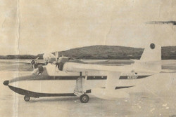 Grumman Albatross - The first AAB Albatross arrives in STX but never flew in passenger service.