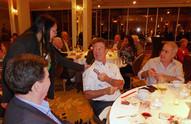 Jennifer Chun with Dave Evans, John Foy and Morad Shaker