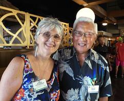 Susan Stevenson & Tom Adachi