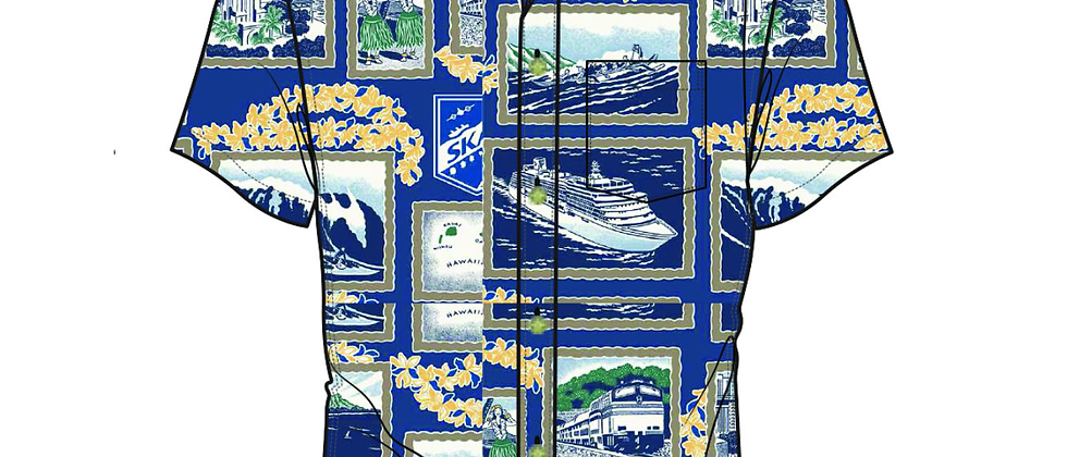 Reyn Spooner - Skal / Hawaiian Aloha Shirt/ Tailored