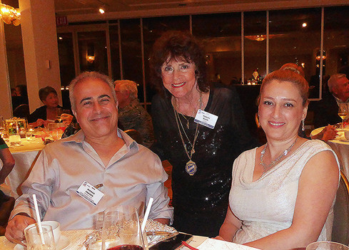 Morad Shaker, Valerie Davis & Marjan Shaker