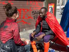 Les super héros de la cohésion sociale . A venir