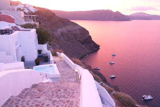 Sunrise in Santorini