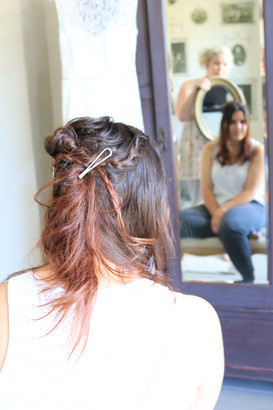 The hair style