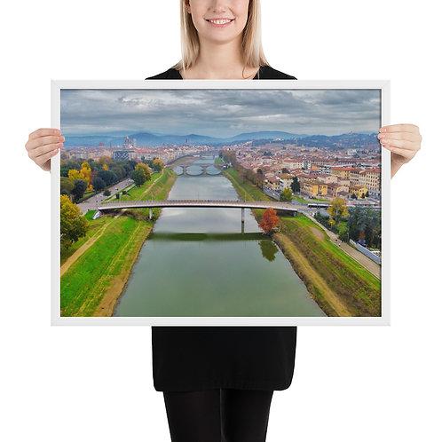 Framed matte paper poster copy