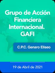Grupo de acción financiera Internacional. GAFI