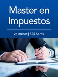 Master en Impuestos