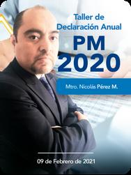 Taller de Declaración Anual PM 2020