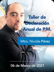 Taller de Declaración Anual de P.M.