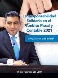 La responsabilidad solidaria en el ámbito Fiscal y Contable 2021