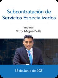 Subcontratación de Servicios Especializados