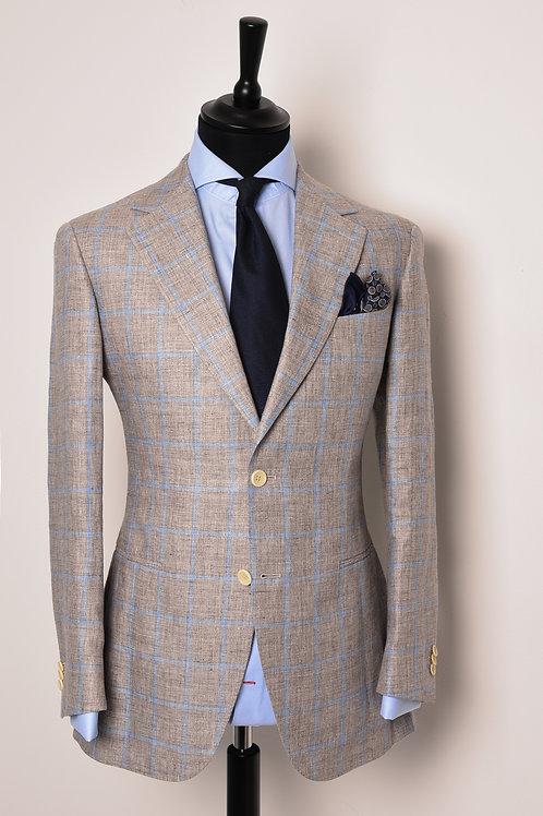 Grey Window Pane Jacket