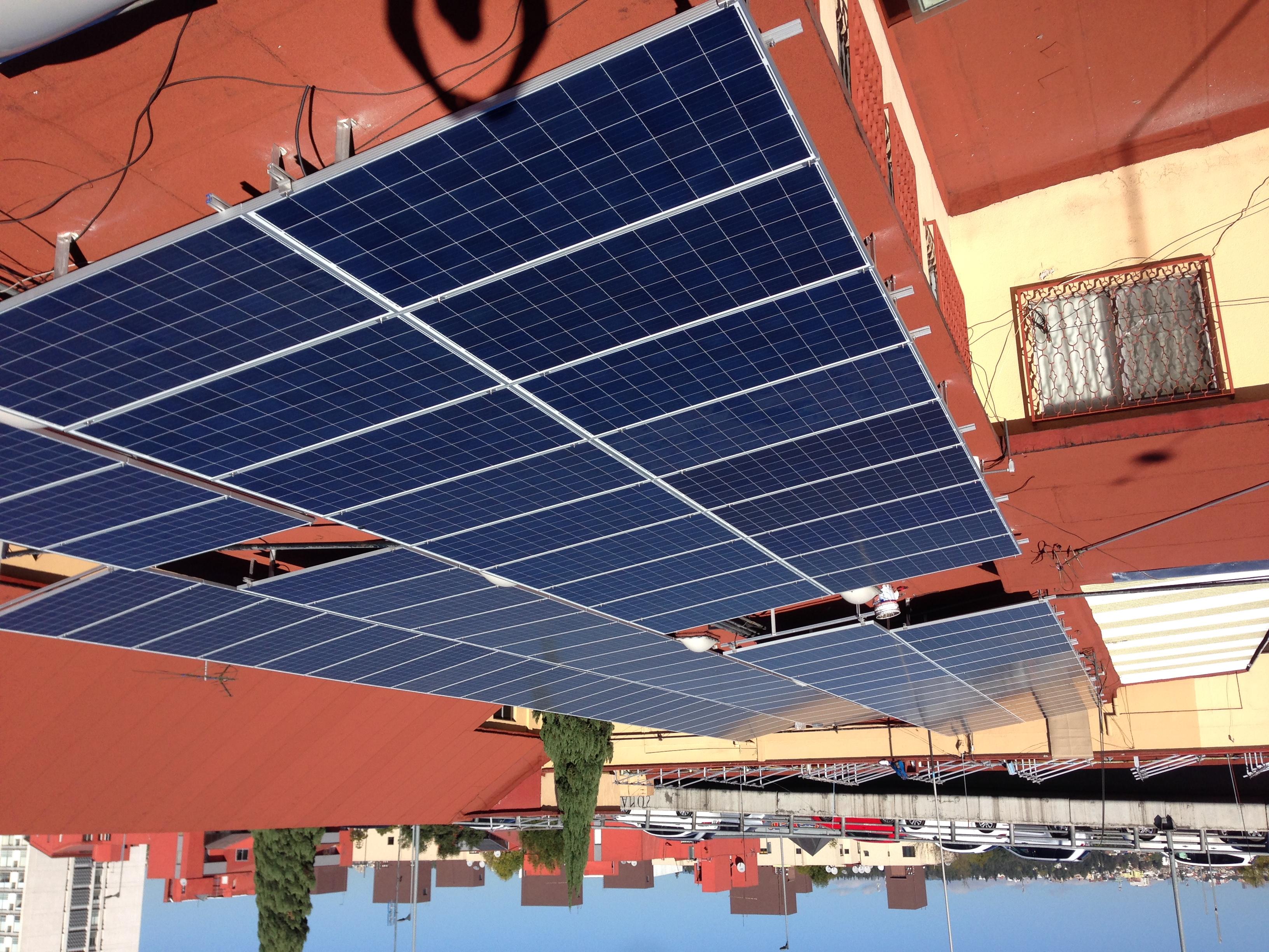 Sistema Fotovoltaico 58 KWp