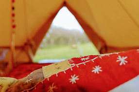 bell tent hire ilfracombe