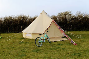 bell tent camping woolacombe