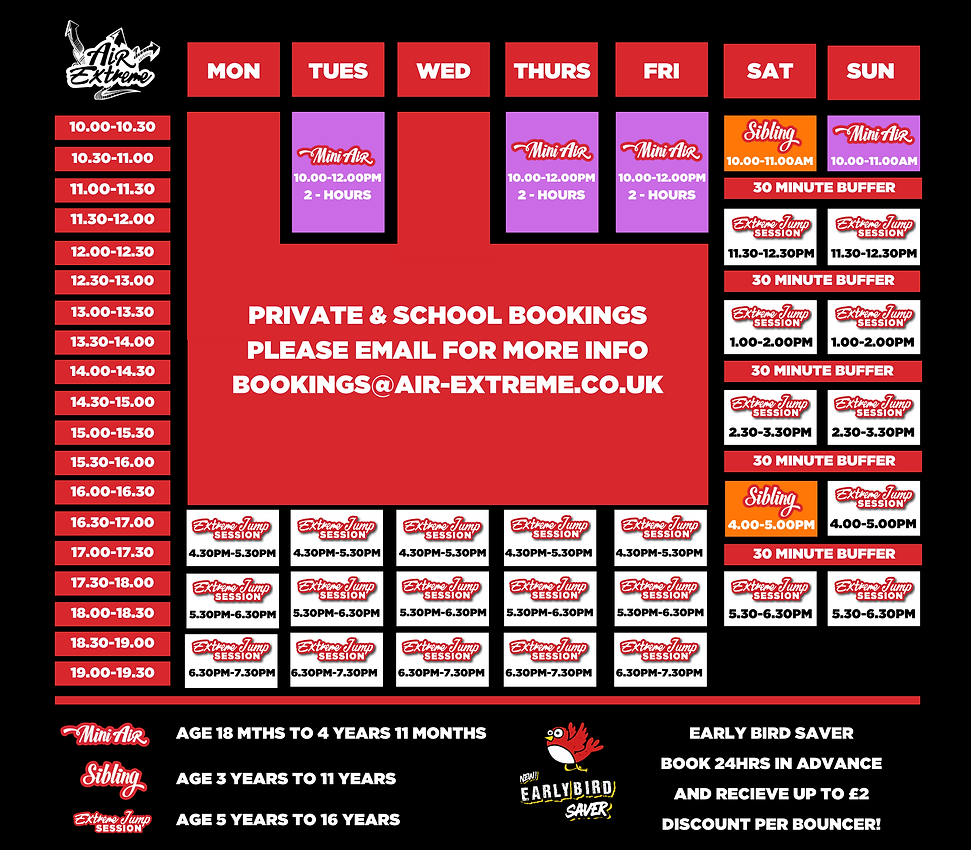 Copy of 1 term timetable 2020 september
