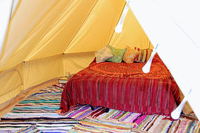 bell tent hire north devon