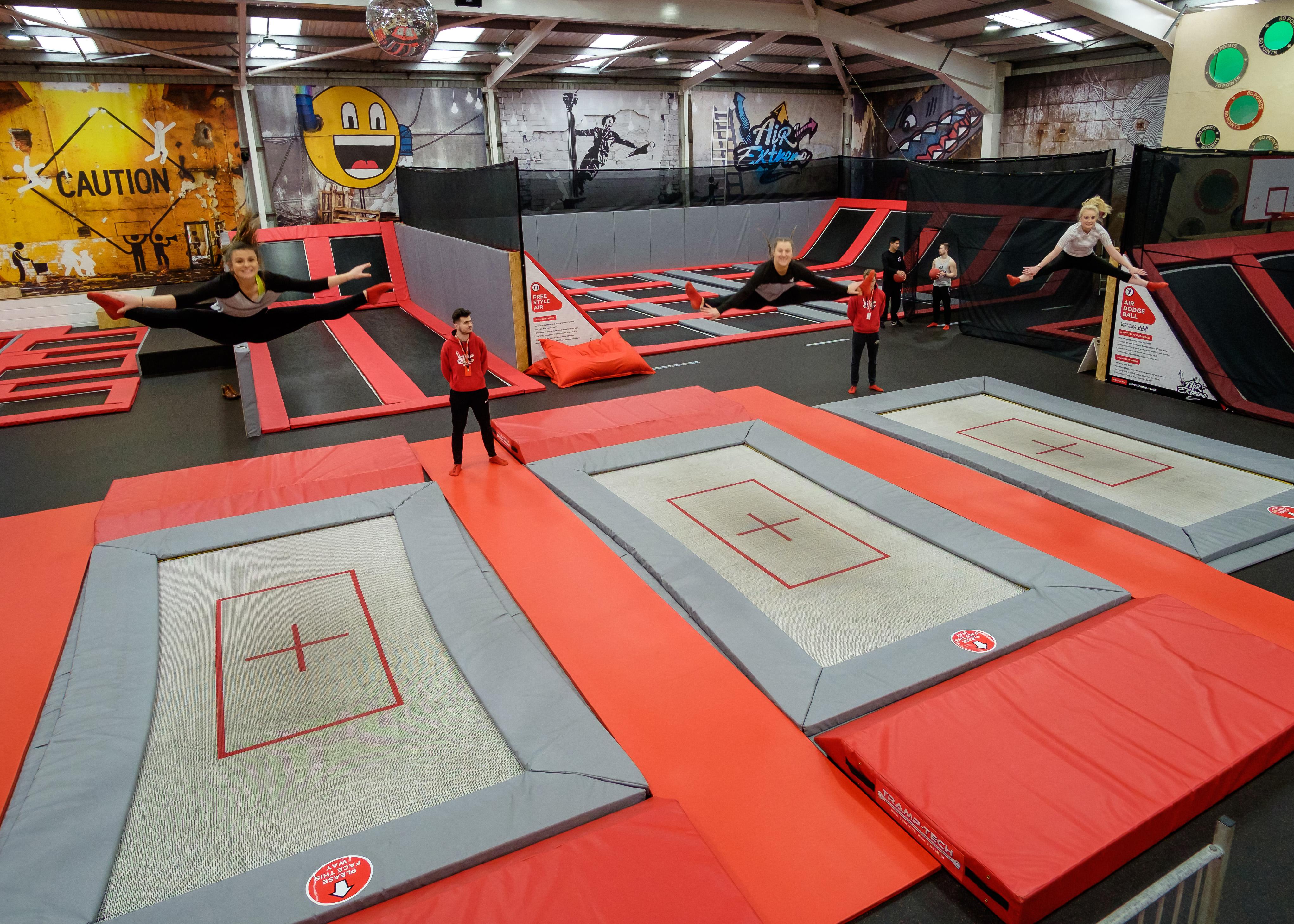 trampoline club barnstaple