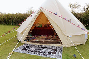 bell tent hire woolacombe north devon