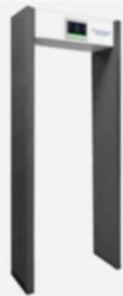 Thermal gate tempreture detector