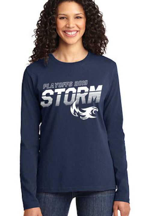 Storm - Playoff LST 19 - Ladies Long Sleeve
