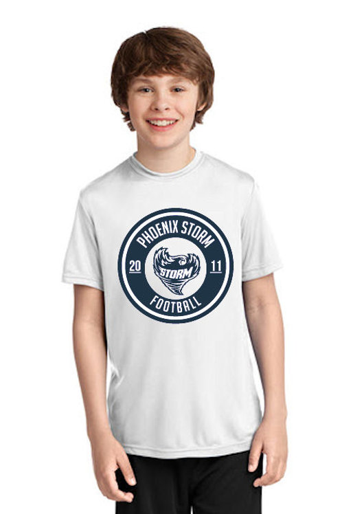 Storm - 2019 Youth Est. Drifit Shirt (White)