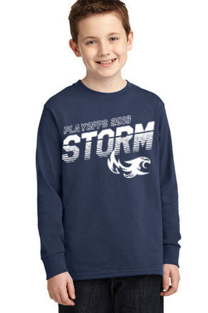 Storm - Playoff LST 19 - Youth Long Sleeve