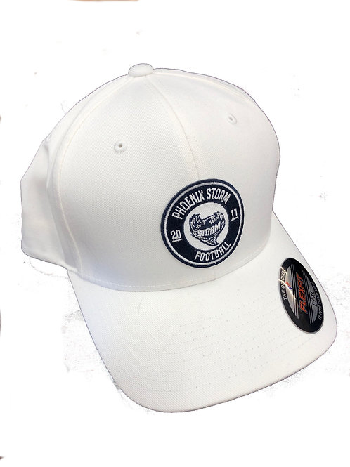 of Storm - Est. 2011 Snapback Hat (White)