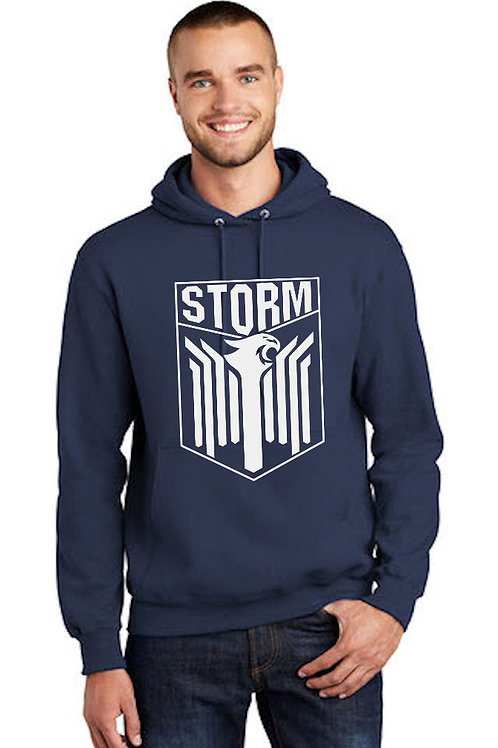 Storm - Shield Pullover Hooded Sweatshirt -NAVY