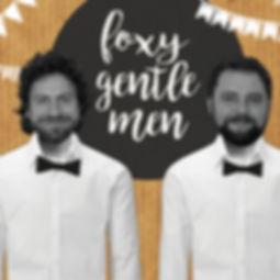 2 Musiker der Hochzeits- und Partyband Foxy Gentlemen