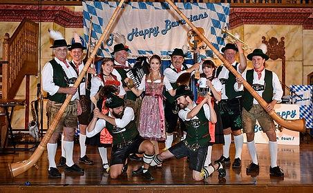 Happy Bavarians