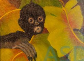 Inspired by Frida's Monkey