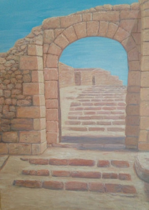 """Masada"" by Theresa Lannen"