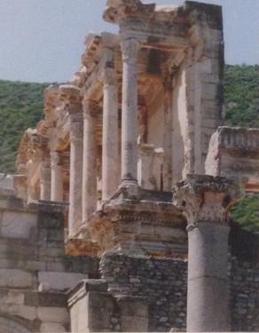 """""""Library of Ephesus"""" by Pamela Sayre"""
