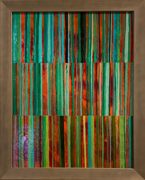 """""""Green Stripes"""" by Paul Zonca"""